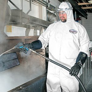 KleenGuard A35 Disposable Liquid & Particle Protection Coveralls, Elastic Wrists & Ankles, w/Hood