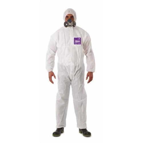 MICROCHEM by AlphaTec™ 1500 Coveralls with Hoods